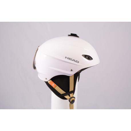 ski/snowboard helmet HEAD 2020 WHITE/brown, adjustable