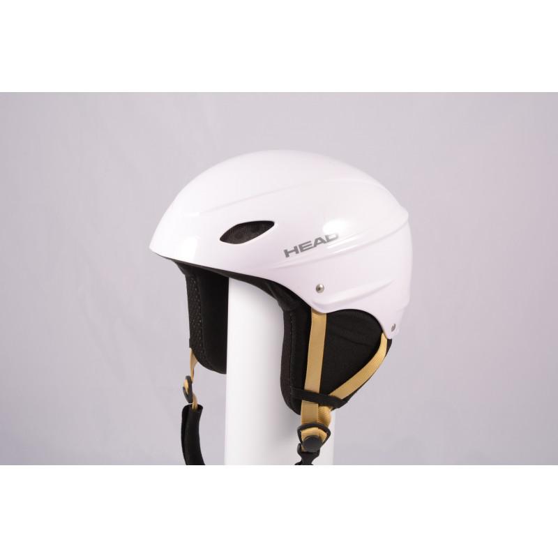 lyžiarska/snowboardová helma HEAD 2020 WHITE/brown, einstellbar ( TOP stav )