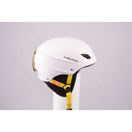 ski/snowboard helmet HEAD 2020 WHITE/yellow, adjustable ( TOP condition )