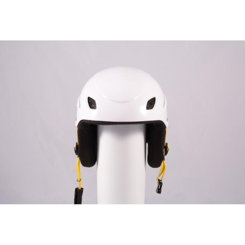 lyžiarska/snowboardová helma HEAD 2020 WHITE/yellow, einstellbar ( TOP stav )