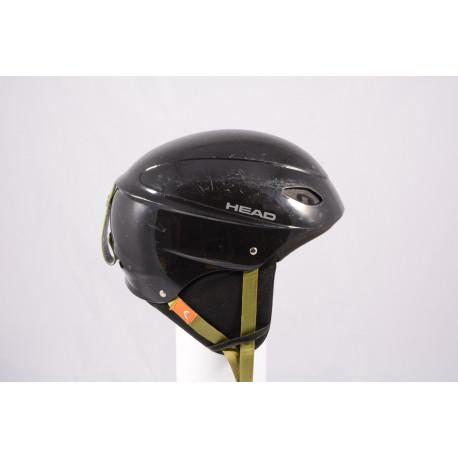 ski/snowboard helmet HEAD BLACK/green, adjustable