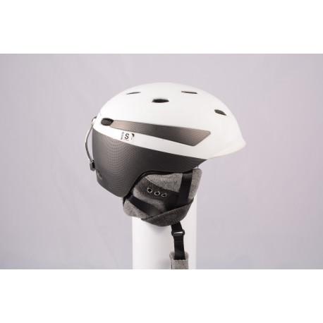 Skihelm/Snowboard Helm PRET EFFECT GRENZWERTIG 2019, WHITE/grey, Air ventilation, einstellbar ( TOP Zustand )