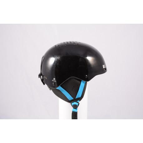 Skihelm/Snowboard Helm SALOMON BRIGADE 2020, Black/blue, einstellbar ( wie NEU )