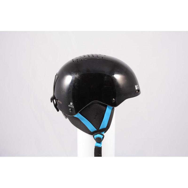 ski/snowboard helmet SALOMON BRIGADE 2020, Black/blue, adjustable ( like NEW )