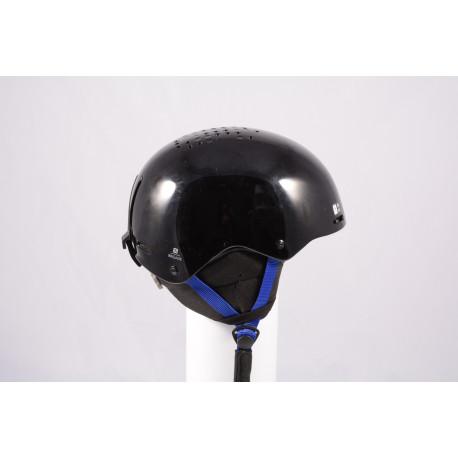 Skihelm/Snowboard Helm SALOMON BRIGADE 2020, Black/dark blue, einstellbar ( TOP Zustand )