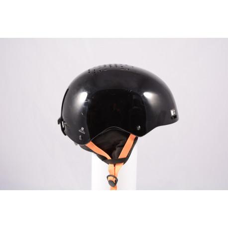 ski/snowboard helmet SALOMON BRIGADE 2020, Black/orange, adjustable ( TOP condition )