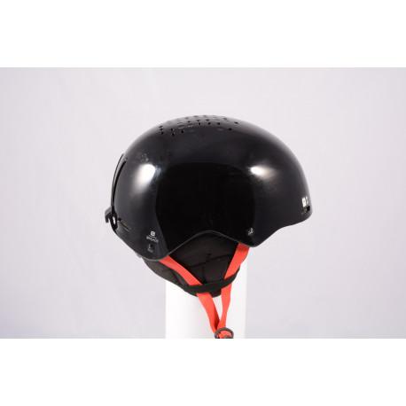 ski/snowboard helmet SALOMON BRIGADE 2020, Black/red, adjustable ( TOP condition )