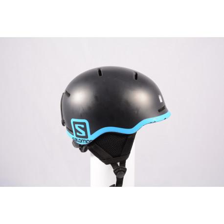 Skihelm/Snowboard Helm SALOMON GROM BLACK 2020, Black/blue, einstellbar ( TOP Zustand )