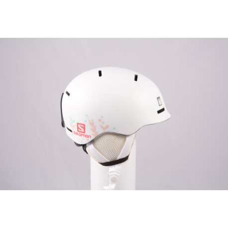 Skihelm/Snowboard Helm SALOMON GROM WHITE 2020, einstellbar ( wie NEU )