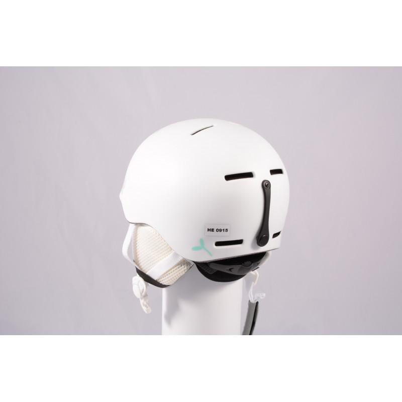 ski/snowboard helmet SALOMON GROM WHITE 2020, adjustable ( like NEW )