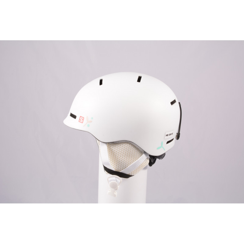 lyžiarska/snowboardová helma SALOMON GROM WHITE 2020, einstellbar ( ako NOVÁ )