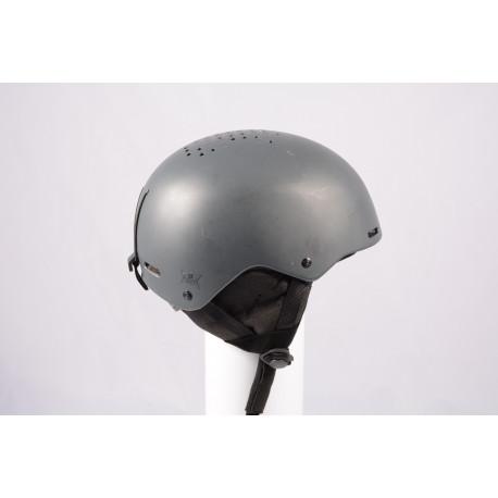 Skihelm/Snowboard Helm SALOMON PACT GREY 2020, einstellbar ( TOP Zustand )