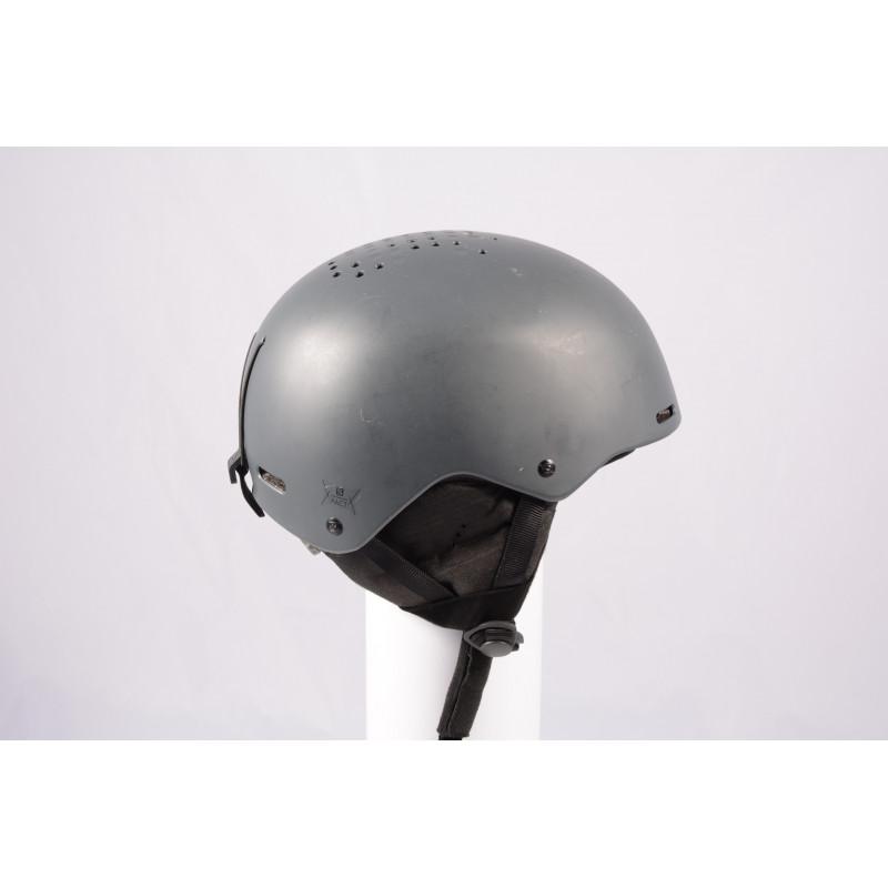 lyžařská/snowboardová helma SALOMON PACT GREY 2020, nastavitelná ( TOP stav )