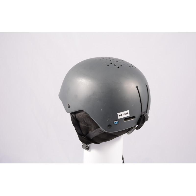 lyžiarska/snowboardová helma SALOMON PACT GREY 2020, einstellbar ( TOP stav )