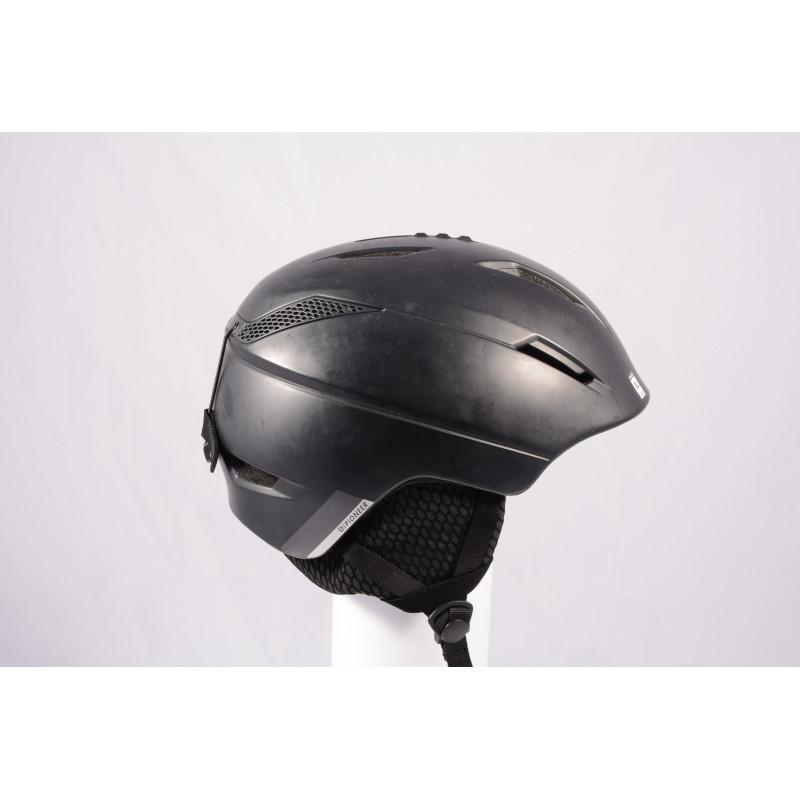 lyžiarska/snowboardová helma SALOMON PIONEER MIPS 2020, BLACK, Air ventilation, einstellbar ( TOP stav )
