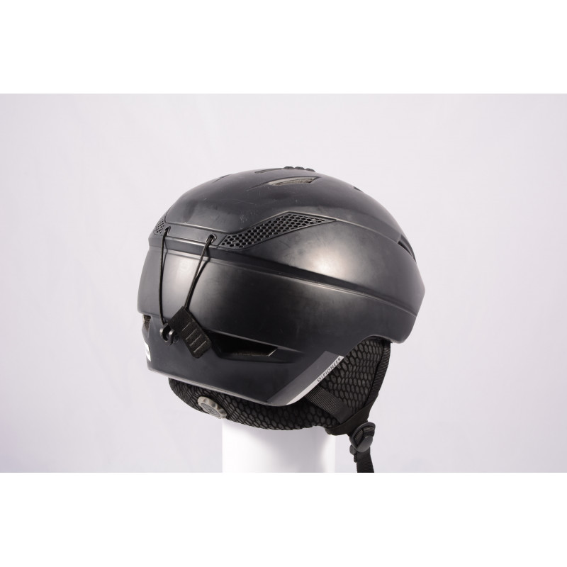 lyžiarska/snowboardová helma SALOMON PIONEER MIPS 2020, BLACK, Air ventilation, einstellbar ( TOP stav )