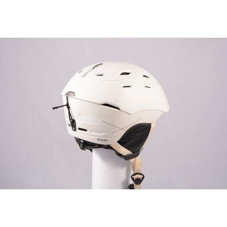 lyžiarska/snowboardová helma SMITH SEQUEL 2019, White, Air ventilation, einstellbar