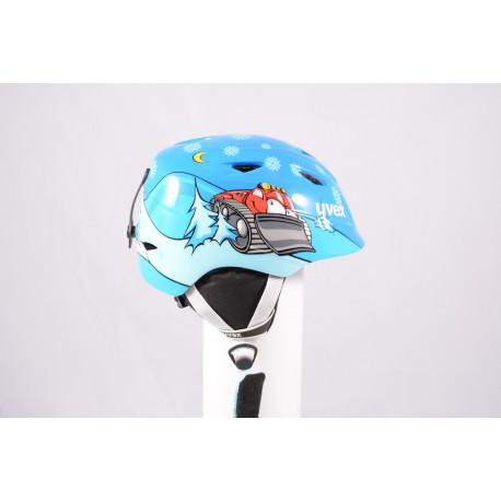 Skihelm/Snowboard Helm UVEX AIRWING 2, 2020, Blue, einstellbar ( wie NEU )