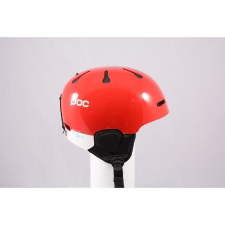 nová lyžiarska/snowboardová helma POC AURIC CUT BC SPIN 2020, Red, Air ventilation, einstellbar, Recco ( NOVÁ )