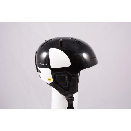 nová lyžiarska/snowboardová helma POC FORNIX BACKCOUNTRY 2020, Black, Air ventilation, einstellbar, Recco ( NOVÁ )