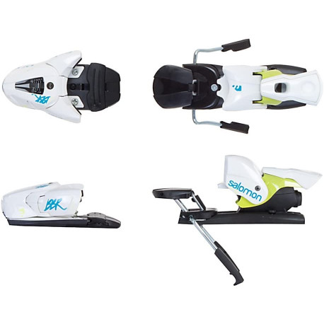 new ski binding Salomon N Z12 BBR, WHITE/blue - without plate ( NEW )