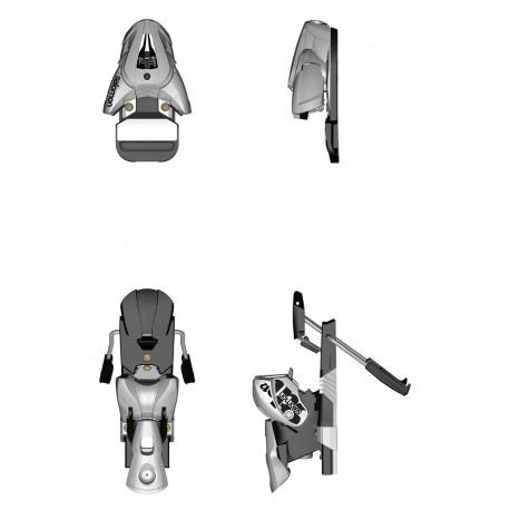 new ski binding SALOMON STH 12, WHITE/black ( NEW )