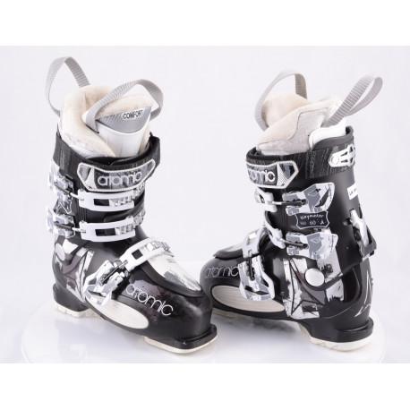 dámske lyžiarky ATOMIC WAYMAKER 60 W, BLACK/silver, COMFORT, SKI/WALK micro, macro