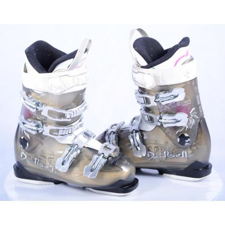 chaussures ski femme DALBELLO MANTIS LTD, trufit, custom fit performer, transparent/white