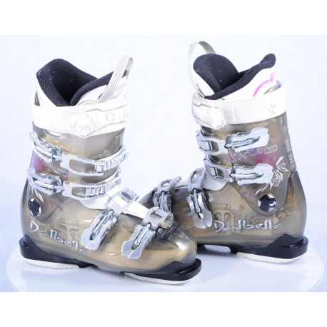 women's ski boots DALBELLO MANTIS LTD, trufit, custom fit performer, transparent/white
