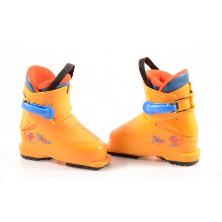 children's/junior ski boots ATOMIC JUNIOR plus, yellow ( like NEW )