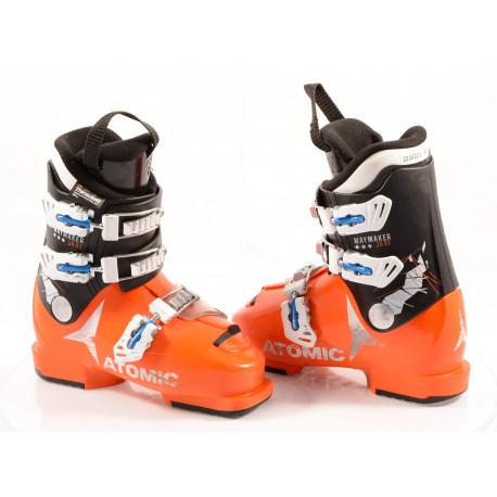 clăpari schi copii ATOMIC WAYMAKER JR R3 orange, THINSULATE insulation