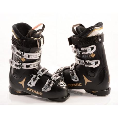dámské lyžáky ATOMIC HAWX MAGNA R70 W, BLACK/gold, ATOMIC bronze, EZ-STEP in, micro, macro ( TOP stav )