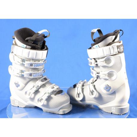 women's ski boots FISCHER RC PRO 80 W XTR white, THERMOSHAPE, SANITIZED, AFZ, DRY shield, 2K power chassis