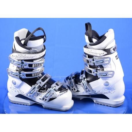 dámske lyžiarky SALOMON DIVINE 770 W, micro, macro, EXTENDED lever, white/black