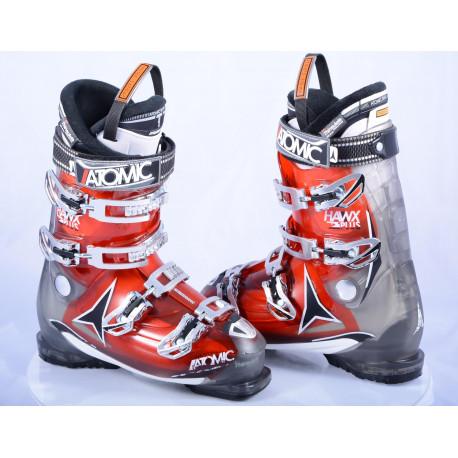 ski boots ATOMIC HAWX 2.0 plus 90, red/grey, MEMORY FIT, sport T1 dynashape 1, micro, macro