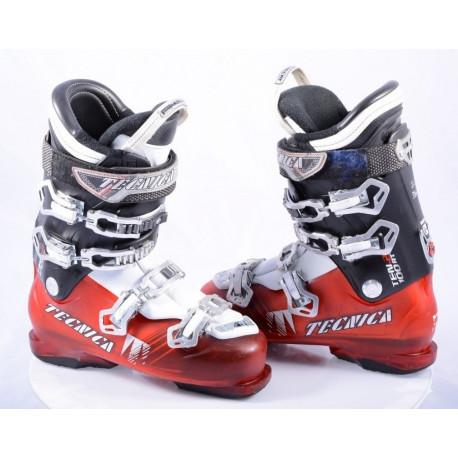 Skischuhe TECNICA TEN.2 100 HVL red, flex 100, micro, QUADRA tech, ULTRA FIT hvl, REBOUND, micro, macro, canting