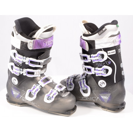 dámske lyžiarky TECNICA MACH1 95 MV RT W, QUADRA ULTRA fit, BLACK/violet, Canting, Woman fit, micro, macro