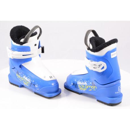 children's/junior ski boots SALOMON T1 blue