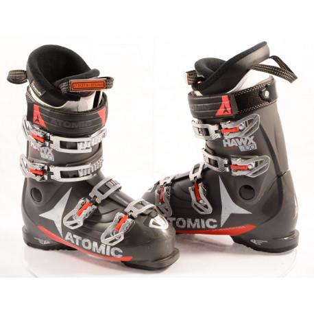 chaussures ski ATOMIC HAWX PRIME 100 R GREY, MEMORY FIT, 3D bronze, 3M THINSULATE, legendary HAWX feel ( en PARFAIT état )