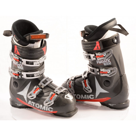 ski boots ATOMIC HAWX PRIME 100 R 2018 GREY, MEMORY FIT, 3D bronze, 3M THINSULATE, legendary HAWX feel