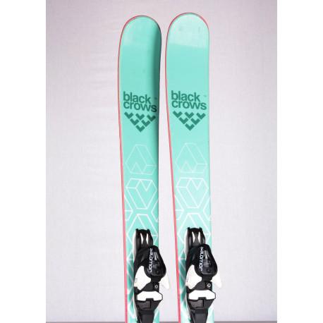 women's skis BLACK CROWS CAPTIS BIRDIE 2019, Woodcore + Salomon Mercury 11
