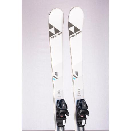 women's skis FISCHER MY TURN 68 X 2020, AIR tec, LIGHT woodcore + FISCHER RS 9