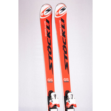 skis STOCKLI WORLDCUP LASER GS VRT, woodcore, double titan + VIST 412 VSP ( TOP condition )