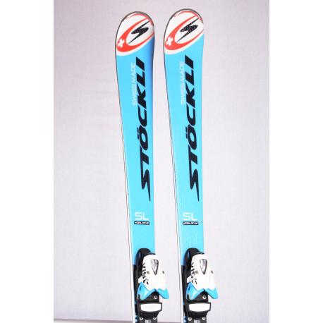skis STOCKLI WORLDCUP LASER SL VIRT, woodcore, double titan + VIST 412