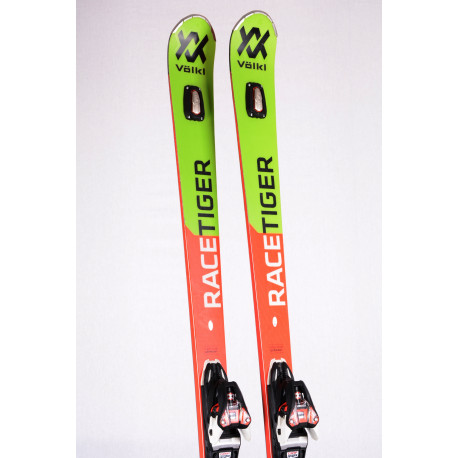 skis VOLKL RACETIGER GS UVO 2020, Woodcore, Titanium + Marker XCell 12 ( TOP condition )