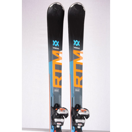 lyže VOLKL RTM 79 WIDERIDE 2019, DUAL woodcore, TIP TAIL + Marker WIDE XL 12 ( TOP stav )