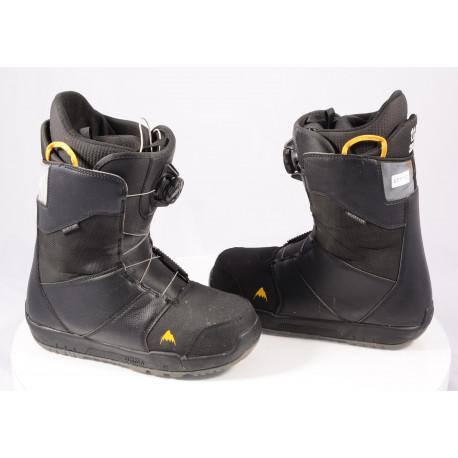 snowboardové topánky BURTON MENS PROGRESSION BOA 2020, BLACK/yellow, H3-R Boa Coiler