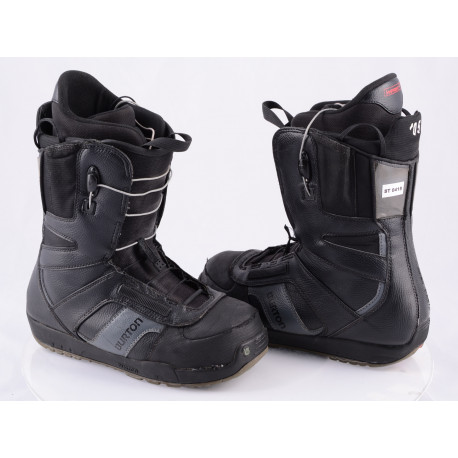 snowboardové topánky BURTON PROGRESSION SZ, CONTROL lacing, IMPRINT 1, BLACK/grey