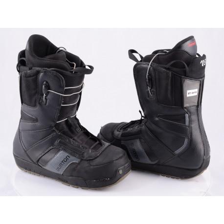 snowboardové boty BURTON PROGRESSION SZ, CONTROL lacing, IMPRINT 1, BLACK/grey