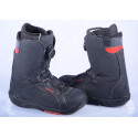 snowboardové topánky DEELUXE DELTA BOA technology, COILER system, SECTION CONTROL LACING, black/red